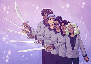 Thorn's core team and their heartswords