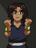 AU!Thorn wearing power-restraining bracelets