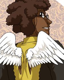 Rowan's new wings