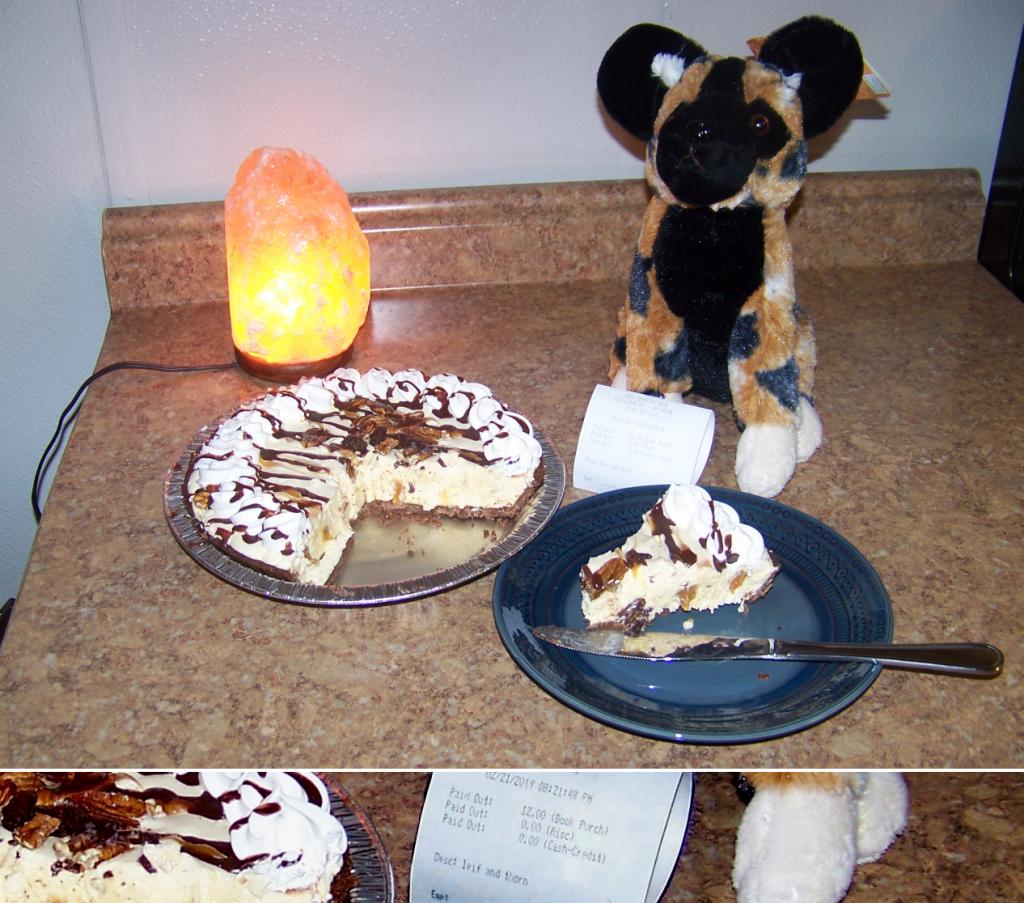 Celebratory pie